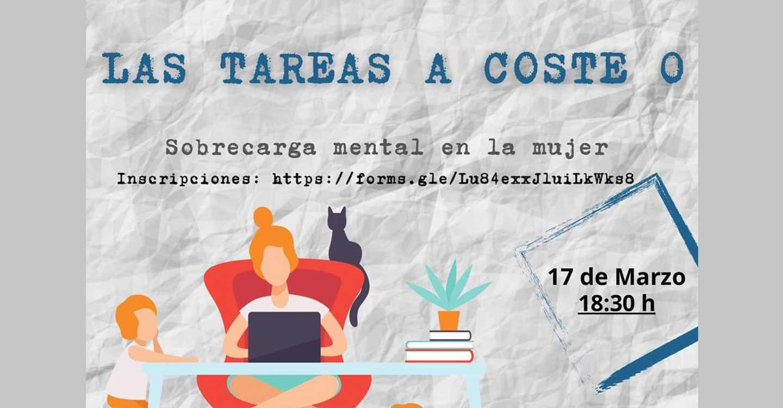 """""""Sobercarga Mental Femenina"""", próxima charla online organizada desde el Centro de la Mujer en torno al 8 de marzo"""