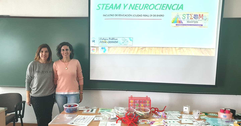 Steam y Neurociencia en el CEIP Félix Grande de Tomelloso