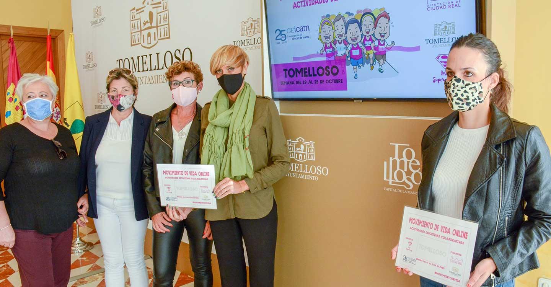Las 'Supernenas' organizan con el Ayuntamiento 'Movimiento de Vida', una actividad solidaria para visibilizar la lucha contra el cáncer de mama