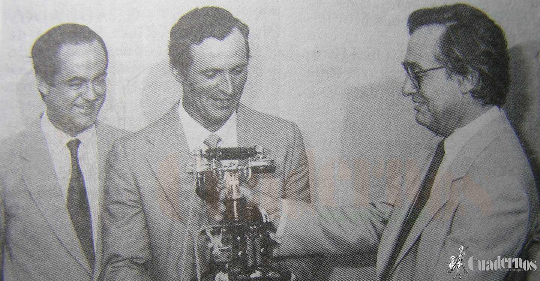 La Compañía Telefónica Nacional de España dio un reconocimiento a Tomelloso