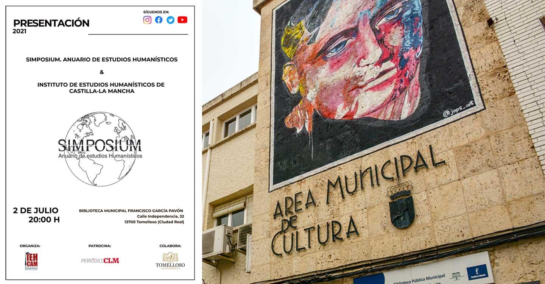 """La Biblioteca Municipal de Tomelloso acogerá la presentación de la Revista """"Simposium. Anuario de Estudios Humanísticos"""""""