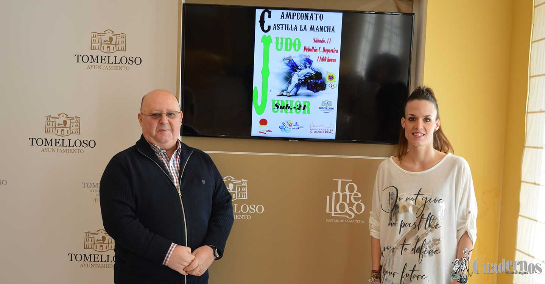 Tomelloso celebrará el Campeonato de Castilla-La Mancha de Judo en la categoría de Sub-21.