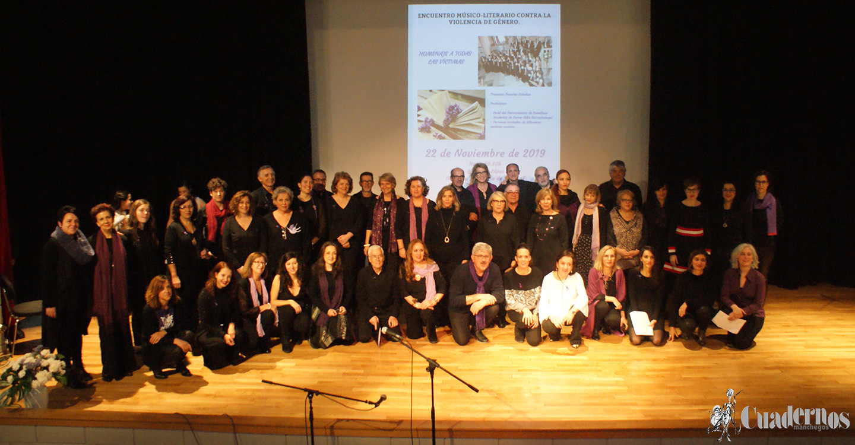 Tomelloso celebró un brillante acto de homenaje a las víctimas de la Violencia de Género con un Encuentro Músico-Literario