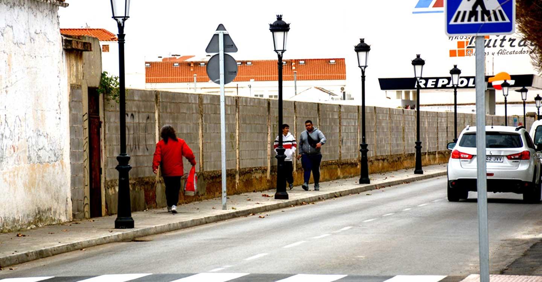 Tomelloso cuenta con siete pasos de peatones elevados más en la red secundaria