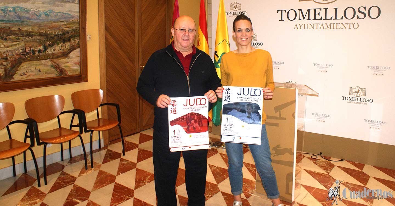 El domingo se celebran en Tomelloso dos campeonatos regionales de judo en categorías inferiores