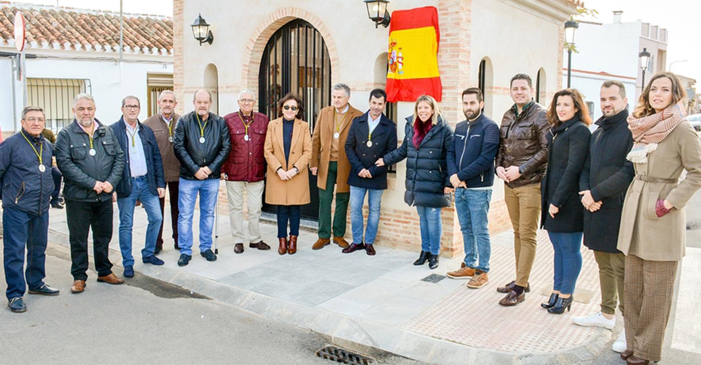 La alcaldesa de Tomelloso, Inmaculada Jiménez, inaugura la ampliación de la ermita del barrio San José Obrero, que será catalogada como bien de interés municipal