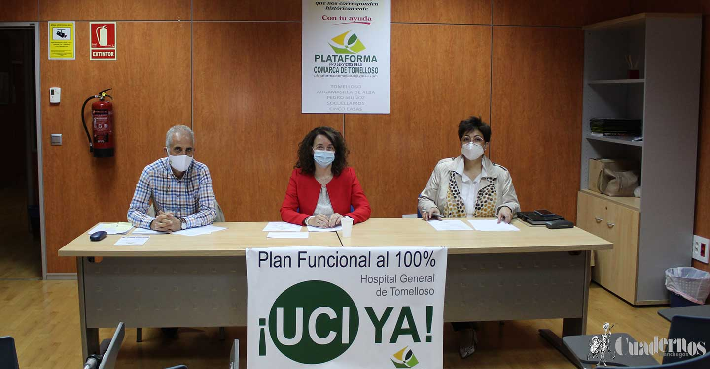 """Pilar Bonillo : """"Tomelloso no tiene UCI, pero está en la UCI"""""""