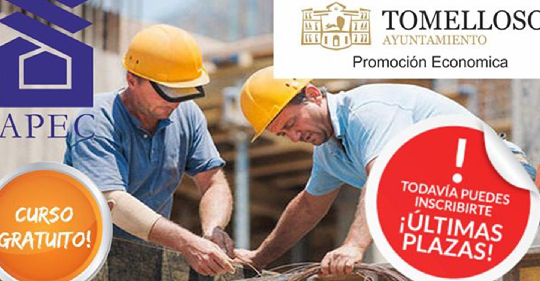 Abierto el plazo de inscripción para el curso de prevención de riesgos laborales de encofrados que se celebrará en  Centro de Empresas (Clipe)  de Tomelloso