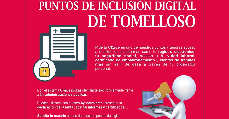 Tomelloso ya cuenta con Puntos de Inclusión Digital