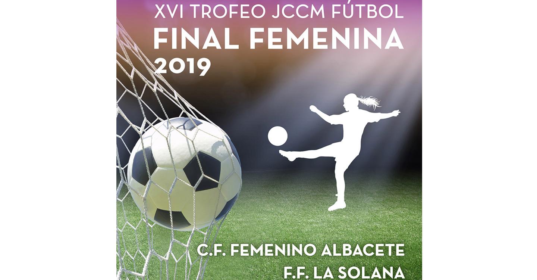 Tomelloso será sede de la final del XVI Trofeo JCCM de Fútbol Femenino este viernes