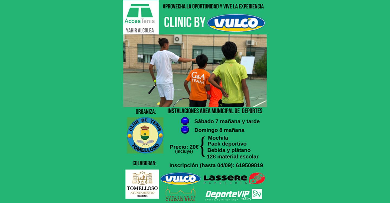 Tomelloso vuelve a apostar por la formación deportiva, con la celebración del II Clinic de Tenis
