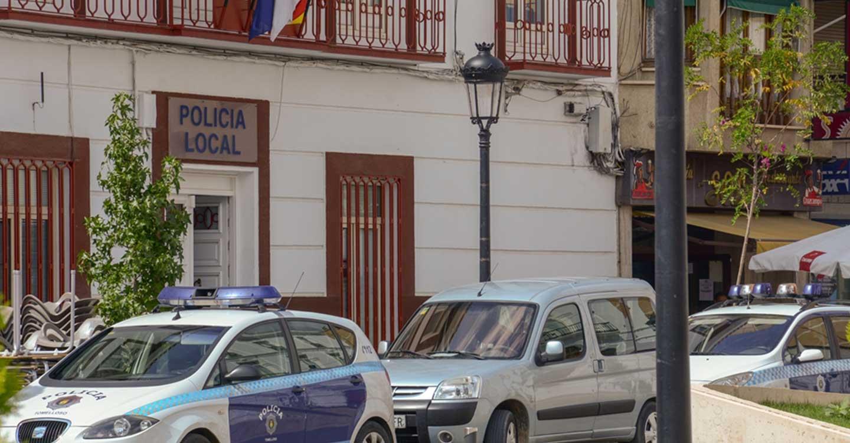 Tras un aviso ciudadano, la Policía Local de Tomelloso impide el robo de un parquímetro