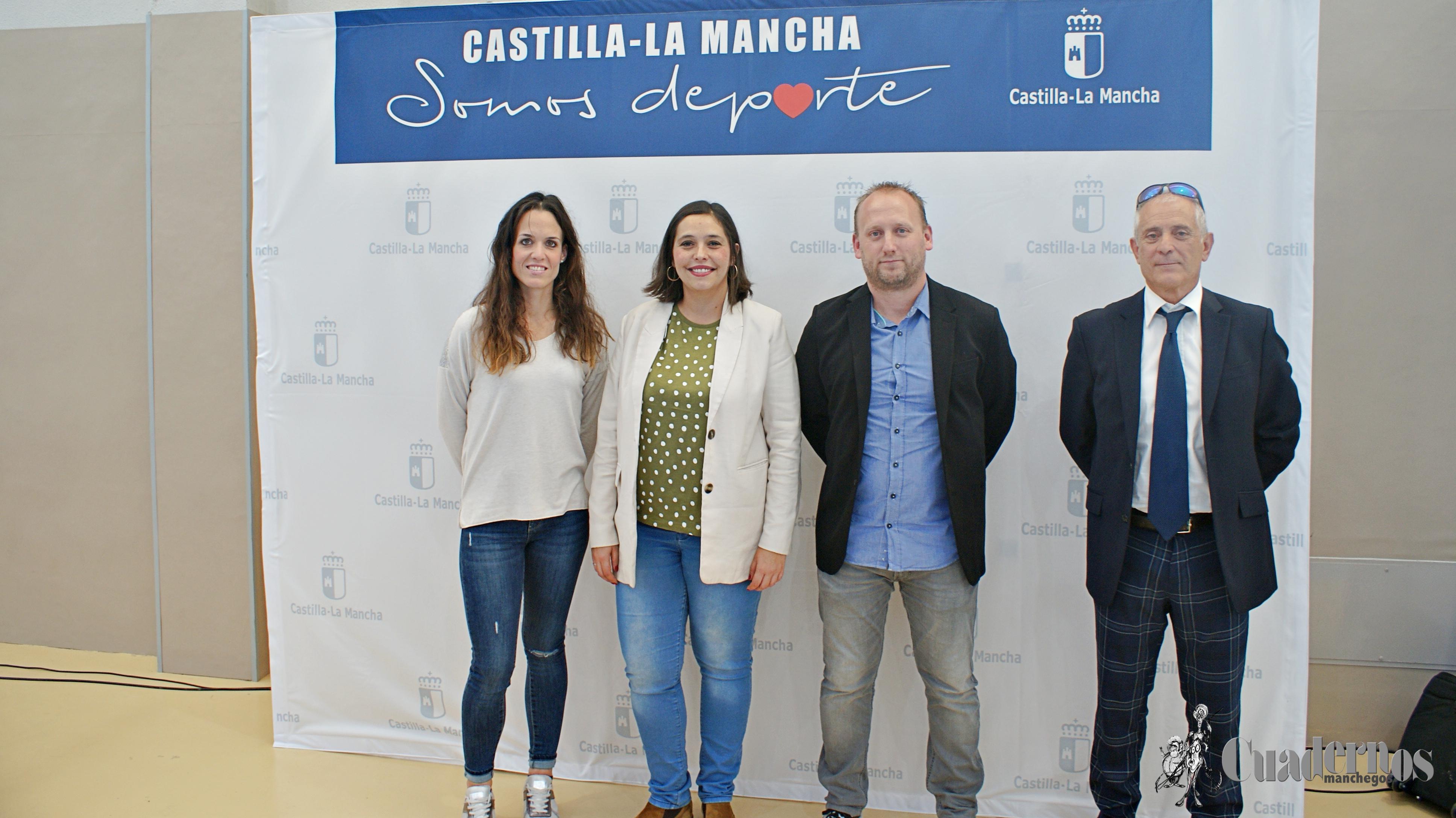 Celebrado con enorme éxito el Trofeo de la JCCM de Baloncesto femenino, donde se anunció la próxima publicación de ayudas a las federaciones de baloncesto.