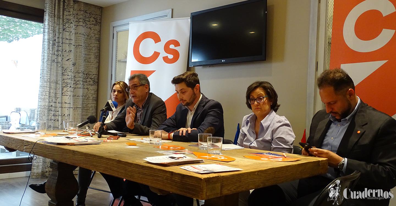 Un completo programa electoral con cinco puntos fundamentales para el desarrollo en Tomelloso, es la propuesta de Ciudadanos para estas elecciones.