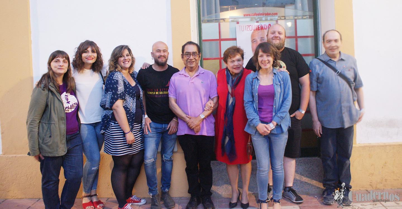 """""""Vamos a ampliar nuestra representación en el Ayuntamiento"""", declaraciones de Tamara Casero, de la coalición Unidas-Podemos."""
