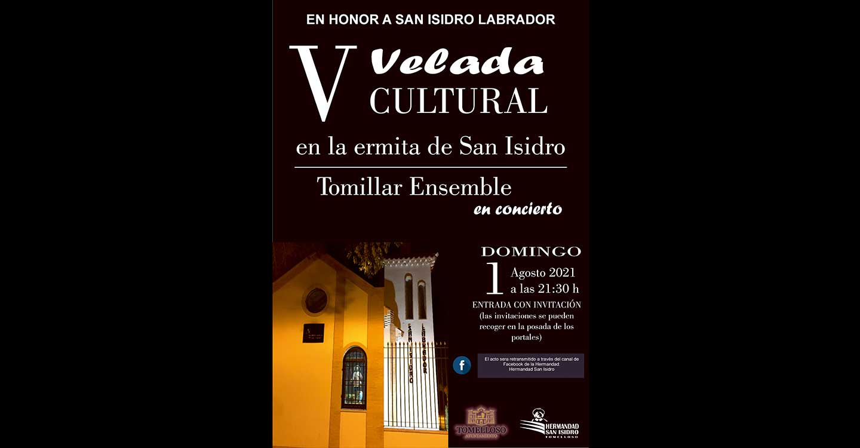 """""""Tomillar Ensemble"""" interpretará un repertorio de grandes números de ópera y zarzuela en la V Velada Cultural en honor a San Isidro"""