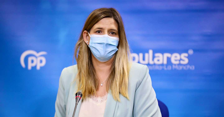 Agudo critica que Page haya vuelto de vacaciones para echar la culpa a los madrileños y así tapar su nefasta gestión de la crisis sanitaria
