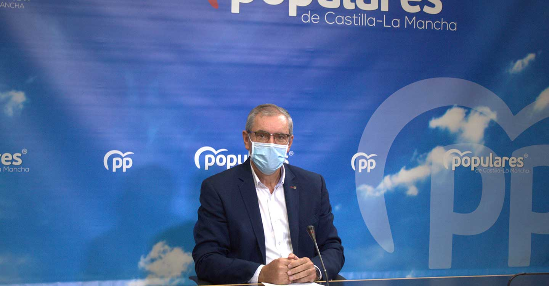 """Aroca exige a Page la apertura inmediata del nuevo Hospital de Toledo y le pide que se deje de una vez de """"excusas de mudanzas"""""""
