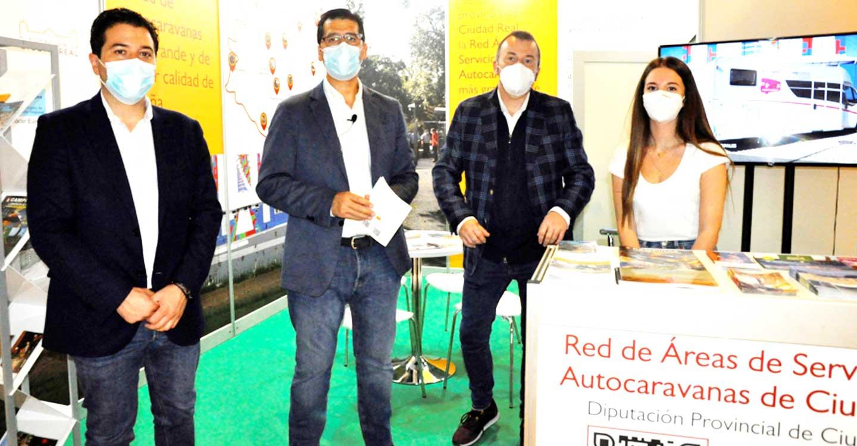 Presentada con gran aceptación en el Salón Internacional Caravaning de Barcelona la Red de Áreas para Autocaravanas de la Diputación