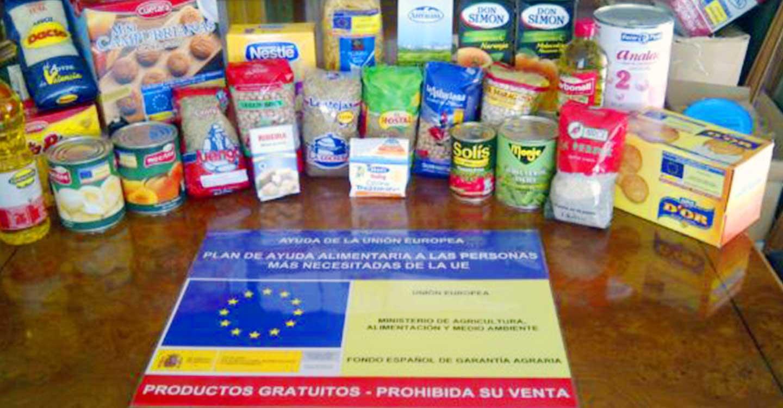 La segunda fase del Plan de Ayuda Alimentaria a las Personas Más Desfavorecidas reparte 1,7 millones de kilos de alimentos en Castilla-La Mancha