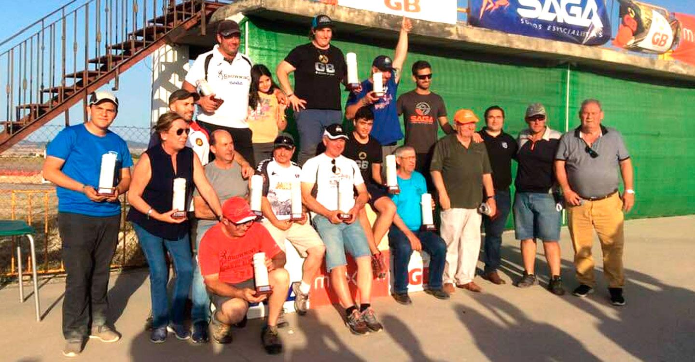 Beatriz Laparra, campeona absoluta en el XXII campeonato de Castilla-La Mancha de Compak Sporting