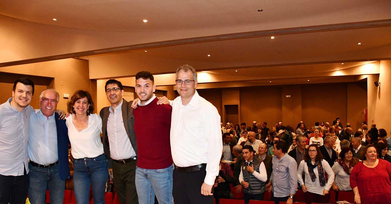 """Caballero apela a una gran movilización social el 28-A en favor del PSOE """"para que España avance frente a la estrategia extremada de la derecha"""""""