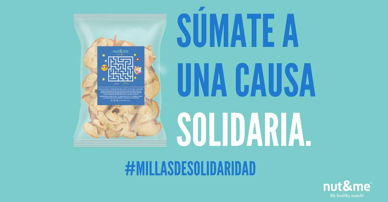 Calconut recauda fondos para los niños con cáncer del Hospital de Torrecárdenas (Almería), a través de la campaña #millasdesolidaridad con nut&me