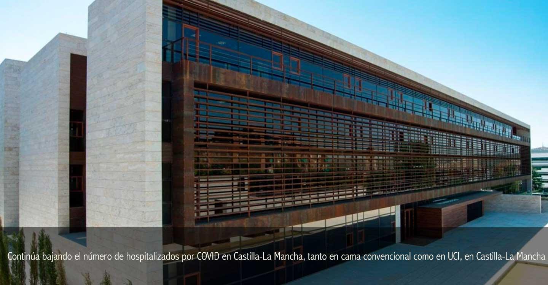 Continúa bajando el número de hospitalizados por COVID en Castilla-La Mancha, tanto en cama convencional como en UCI