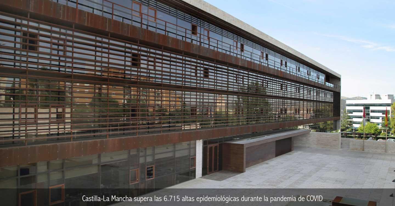 Castilla-La Mancha supera las 6.716 altas epidemiológicas durante la pandemia de COVID