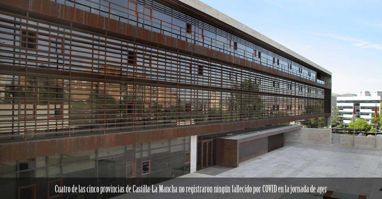 Cuatro de las cinco provincias de Castilla-La Mancha no registraron ningún fallecido por COVID en la jornada de ayer