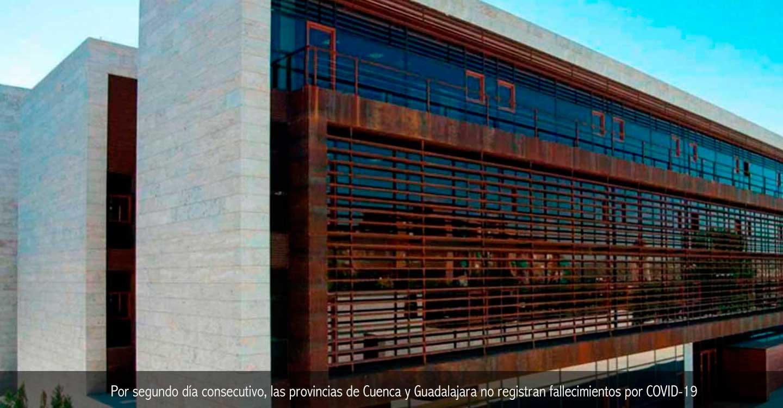 Por segundo día consecutivo, las provincias de Cuenca y Guadalajara no registran fallecimientos por COVID-19