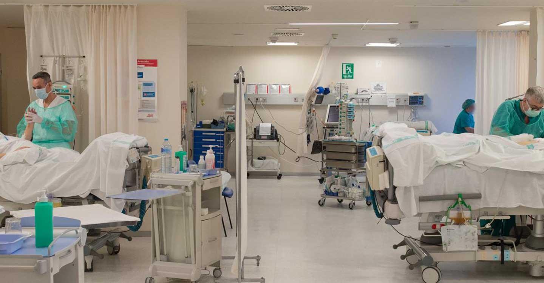Los hospitalizados por COVID en planta hospitalaria descienden hasta 44 pacientes en Castilla-La Mancha