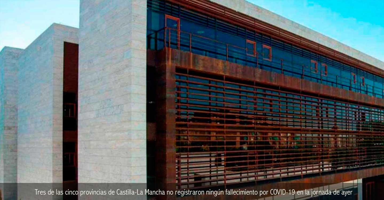 Tres de las cinco provincias de Castilla-La Mancha no registraron ningún fallecimiento por COVID-19 en la jornada de ayer