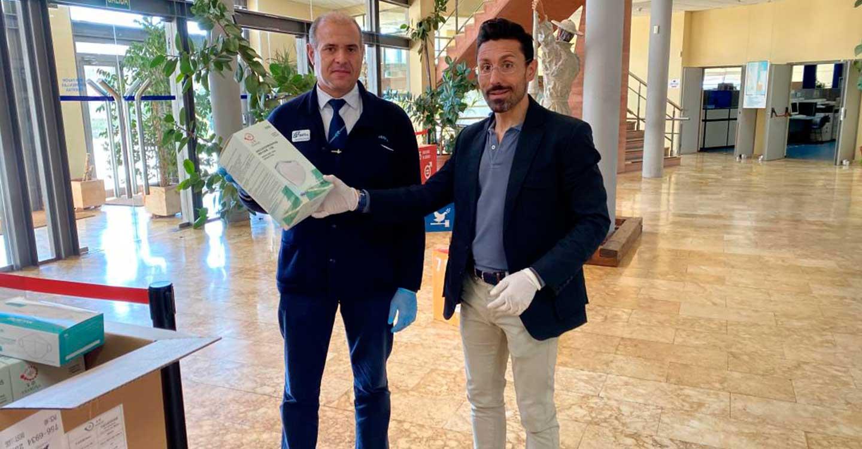 Castilla-La Mancha comienza a recibir y repartir las mascarillas para los trabajadores de los servicios de transporte urbano de la región