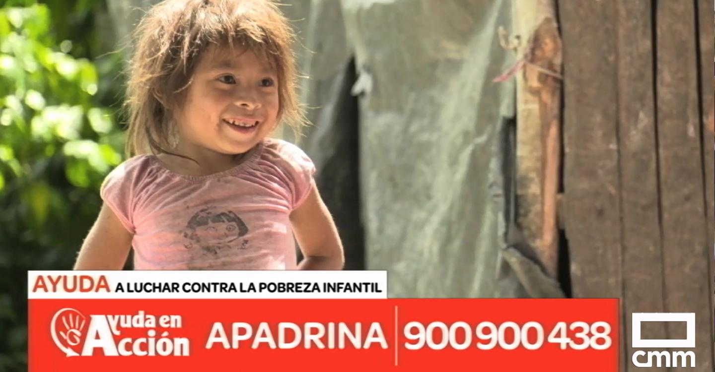 Castilla-La Mancha Media y Ayuda en Acción, juntos contra la pobreza infantil con la campaña #SOMOSAYUDA