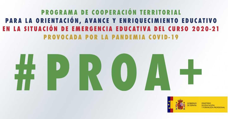 Castilla-La Mancha recibirá más de un millón de euros del programa de ayuda al alumnado vulnerable PROA+ para el curso 2020 21