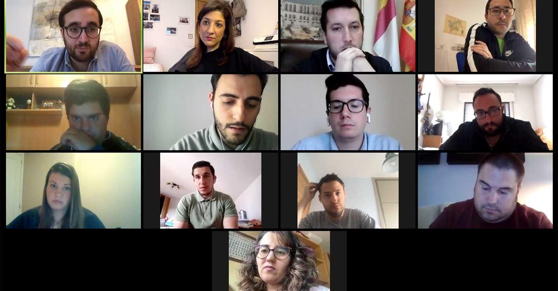 Los Alcaldes de Nuevas Generaciones de Castilla-La Mancha reclaman a Page mayor atención y ayudas para sus municipios