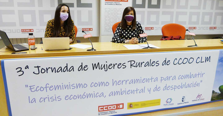 CCOO CLM destaca el ecofeminismo como herramienta para atajar la crisis económica, ambiental y de despoblación y avanzar en justicia social e igualdad