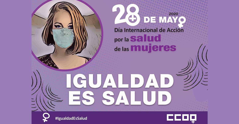 """CCOO CLM: """"Igualdad es salud"""""""