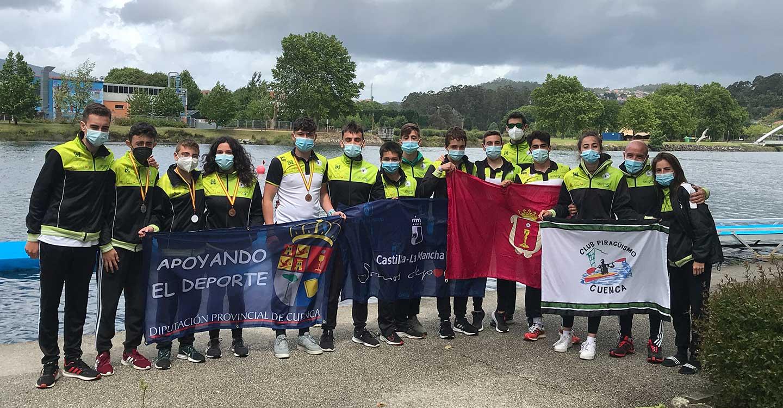 El Club Piragüismo Cuenca con Carácter brilla en el Campeonato de España de Maratón