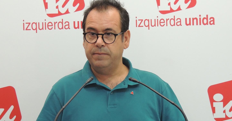 Crespo pedirá a Page y Núñez que Izquierda Unida esté presente en la Mesa sobre el agua de CLM