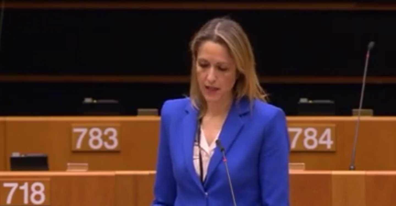 Cristina Maestre pide ayuda en Bruselas para salvar las Tablas de Daimiel