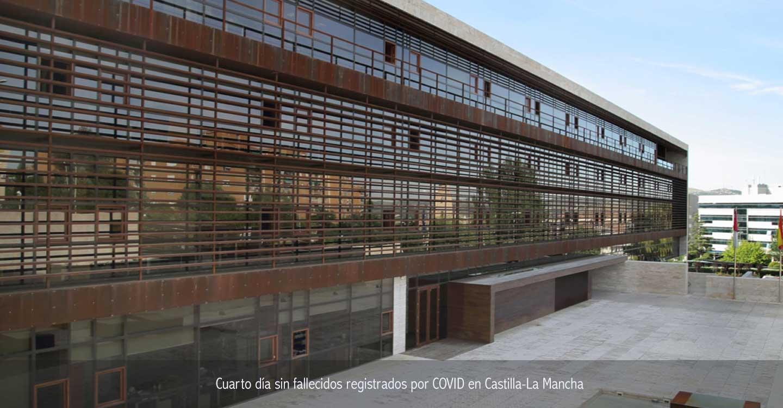 Cuarto día sin fallecidos registrados por COVID en Castilla-La Mancha