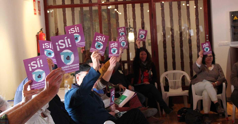Esta será la candidatura de unidad de 'Cuidando Podemos en C-LM' para las próximas primarias