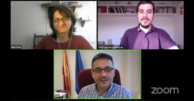 'Cuidando Podemos' recibe el apoyo de los Consejeros Ciudadanos Estatales Jorge Uxó y Mª Cruz Isasi en un coloquio sobre el IMV