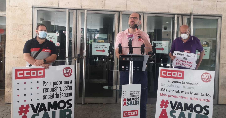 """De la Rosa: """"De esta crisis tenemos que salir reforzados, con un nuevo modelo social"""""""