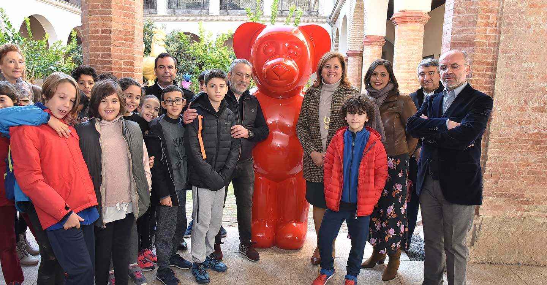 El conocido artista 'dEmo' cede 6 obras a la Junta de Comunidades que serán expuestas en el Centro de Arte Moderno y Contemporáneo de Castilla-La Mancha (CORPO)
