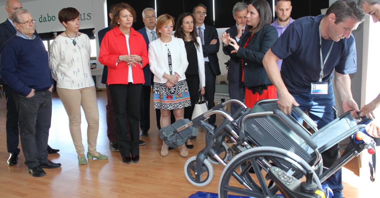 El Gobierno de Castilla-La Mancha amplía el Servicio Público de Acceso a Productos de Apoyo para personas en situación de Dependencia
