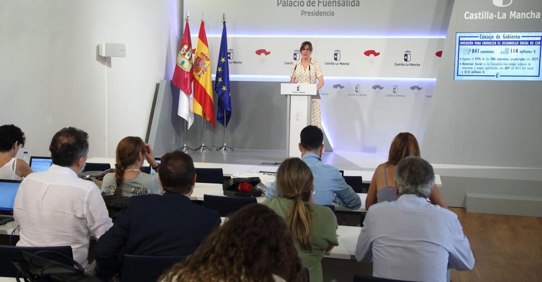 El Gobierno de Castilla-La Mancha ha invertido 114 millones de euros en los 841 convenios suscritos en el segundo trimestre del año