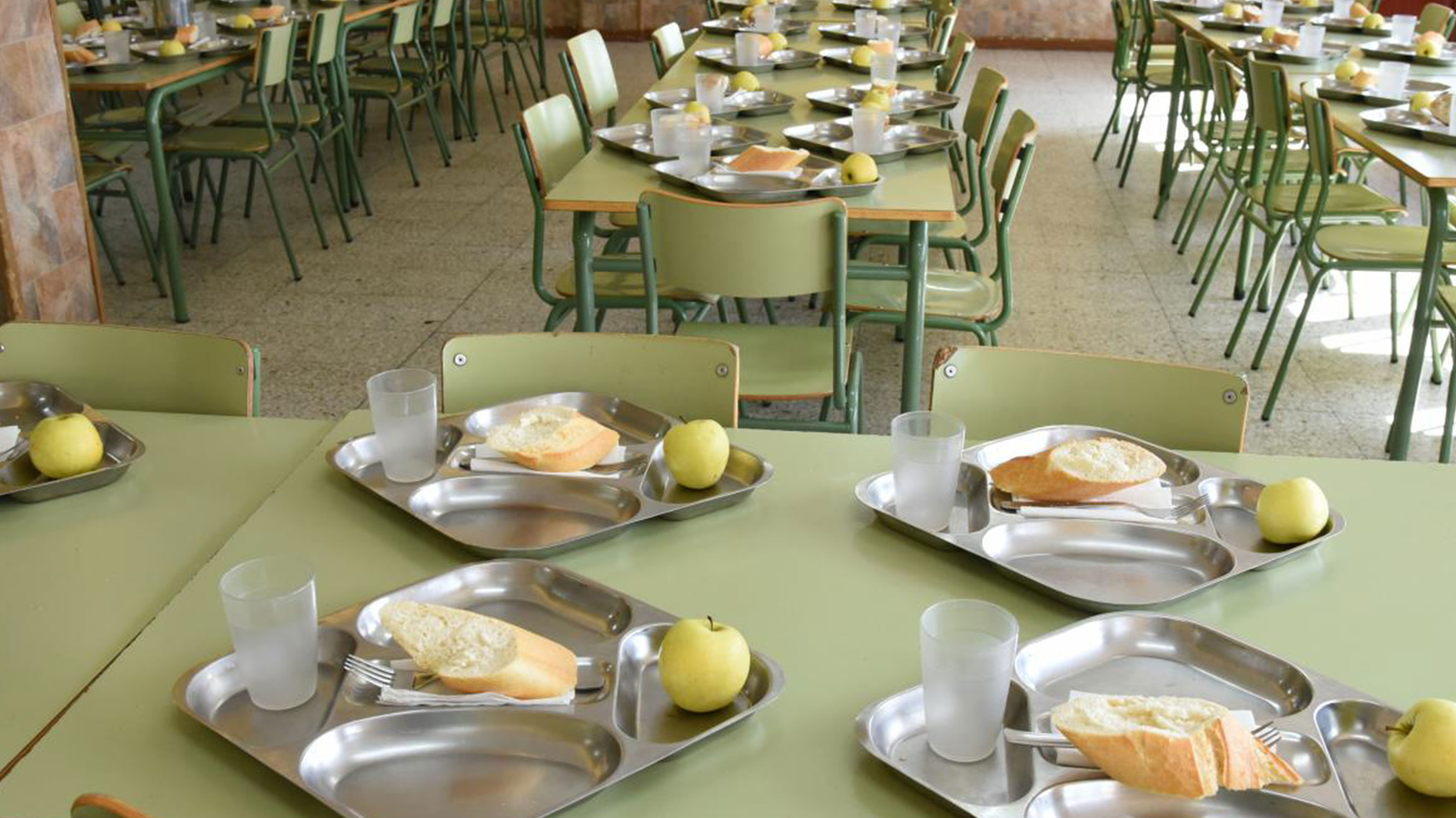 El Gobierno regional seguirá ampliando el número de comedores escolares el próximo curso con la apertura de 16 nuevos